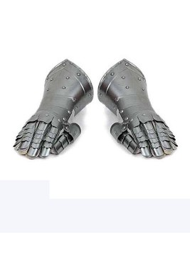 Gantelets médiévale de combat