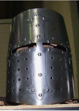 Casque Templier - Heaume médiéval