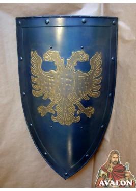 Bouclier Médiévale Avec Aigle Biceps