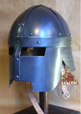 Casque Médiéval - Casque Viking Masque