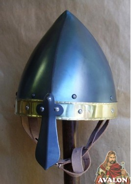 Casque Viking Conique à Nasal