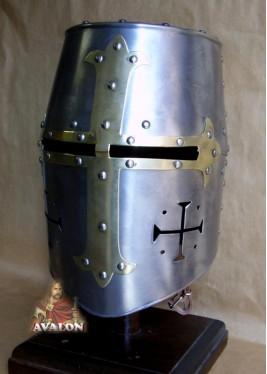 Heaume Templier -  Casque de combat