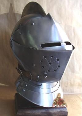 Casque Chevalier - Casque Médiéval - Armet