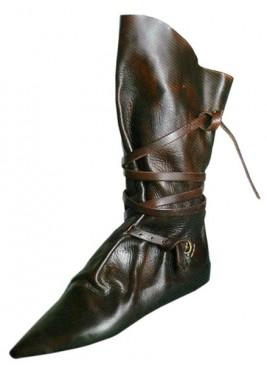 Bottes médiéval cheval genou