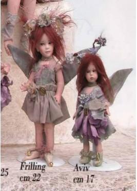 Frilling, bambola in porcellana