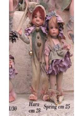 Haru, bambola in porcellana