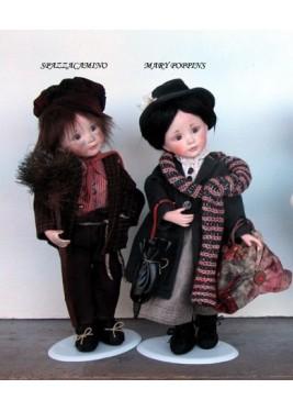 Poupées: les Ramoneurs et Mary Poppins