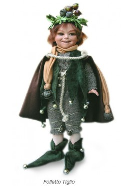 Poupée Porcelaine Elfe, Tiglio
