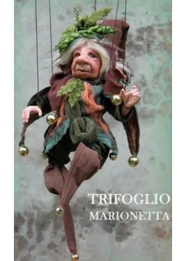 Trèfle Marionnette en Porcelaine
