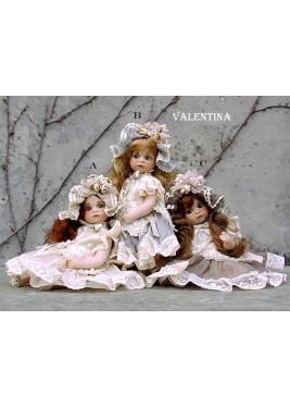 Poupée de Collection Valentina - Hauteur 21 cm