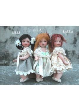 Poupées Porcelaine: Lalla, Lilli et Lella