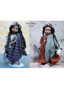 Poupée de Collection Malema - Hauteur 30 cm