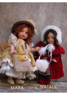 Poupées Porcelaine, Mara et Natalie
