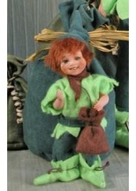 Poupée Peter Pan Petit Conte des Fée, 13 cm