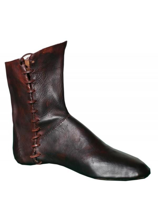 en cuir Les faites à bottes médiévales la main iuOPTkXlwZ