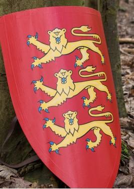 Bouclier du roi Edouard Ier - Bouclier en bois, peint